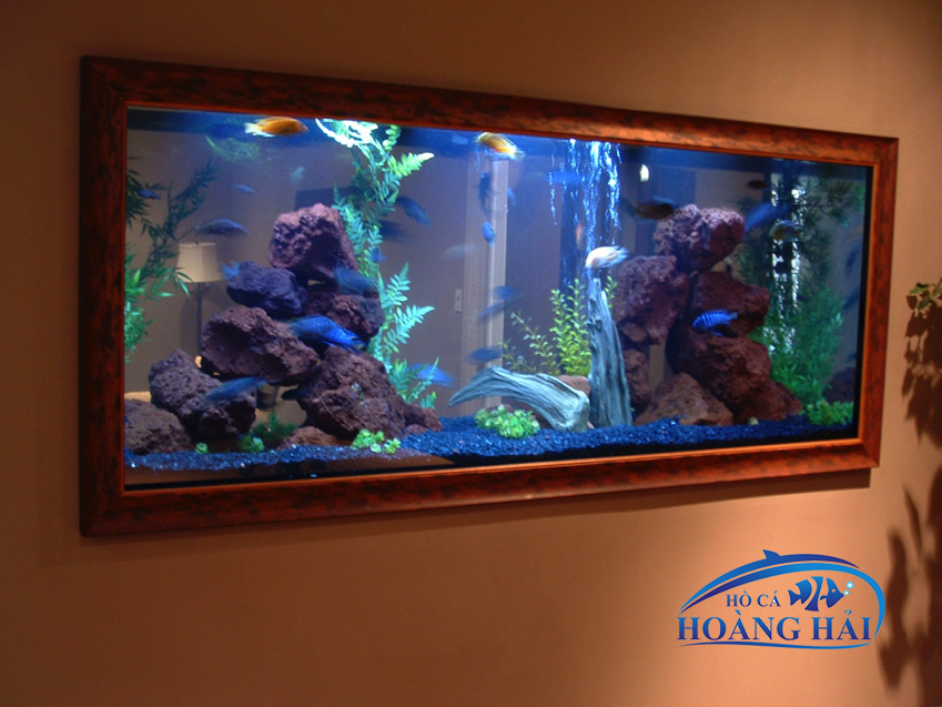 ho-ca-treo-tuong-2 Sự tinh tế trong từng thiết kế bể cá treo tường